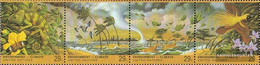 UN - New York 657-660 Quad Strip (complete Issue) Unmounted Mint / Never Hinged 1993 Climate Change - New York – UN Headquarters