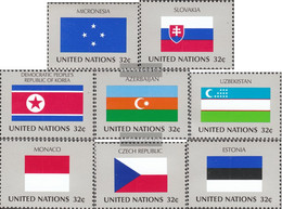 UN - New York 756-763 (complete Issue) Unmounted Mint / Never Hinged 1998 Member States - New York – UN Headquarters