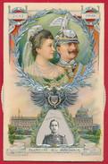 Mechanische AK 'Silberhochzeit Des Kaisers' ~ 1906 - Familles Royales