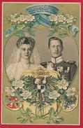 AK  Zur Hochzeit Von Prinz Friedrich Wilhelm ....  ~ 1905 - Case Reali