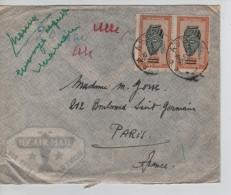 Ruanda-Urundi TP 174(2) S/L.Avion C.Astrida 10.5.50 V.Paris France PR3246 - 1948-61: Lettres