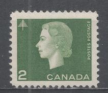 Canada 1963, Scott #402 Queen Elizabeth II And Tree (MNH) - 1952-.... Règne D'Elizabeth II