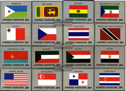UN - New York 373-388 (complete Issue) Unmounted Mint / Never Hinged 1981 Member States - New York – UN Headquarters