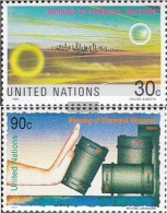 UN - New York 617-618 (complete.issue.) Unmounted Mint / Never Hinged 1991 Prohibition Chemical Weapons - New York – UN Headquarters