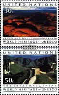 UN - New York 625-626 (complete Issue) Unmounted Mint / Never Hinged 1992 Heritage - New York – UN Headquarters