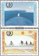 UN - New York 685-686 (complete Issue) Unmounted Mint / Never Hinged 1995 Youth - New York – UN Headquarters