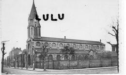 DEPT 59 : Rare Cliché ; Roubaix , L église Saint Michel Avenue Linné - Roubaix