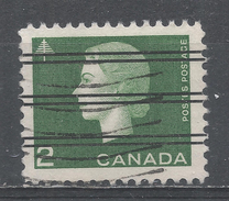 Canada 1963, Scott #402 Queen Elizabeth II And Tree (U) Precancelled - 1952-.... Règne D'Elizabeth II
