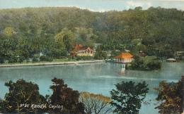 Kandy, Ceylon. - Lake View,  Copyright - The Colombo Apothecaries Co., Ltd. No. 20 - CEYLON (CEYLAN) - Circa 1910, - Sri Lanka (Ceylon)
