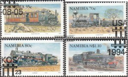 Namibia - Southwest 780-783 (complete.issue.) Fine Used / Cancelled 1994 Course - Namibia (1990- ...)