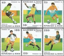 Benin 771-776 (complete Issue) Unmounted Mint / Never Hinged 1996 Football-WM '98, France - Benin - Dahomey (1960-...)