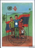 Laos Block151 (complete Issue) Fine Used / Cancelled 1994 Year The Family - Laos