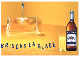 (M_S 8765) France - Ricard Drink Advertising - Publicitée Ricard - Reclame