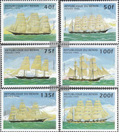 Benin 799-804 (complete Issue) Unmounted Mint / Never Hinged 1996 Sailboats - Benin - Dahomey (1960-...)