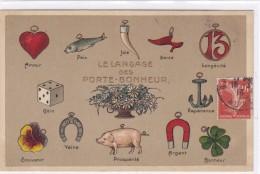 Animaux - Cochons - Le Langage Des Porte-bonheur - Cochons
