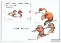Weißrussland Block12 (complete Issue) Unmounted Mint / Never Hinged 1996 Birds - Belarus