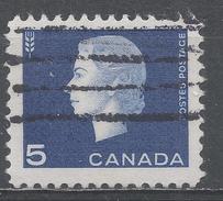 Canada 1962, Scott #405 Queen Elizabeth II And Wheat (U) - 1952-.... Règne D'Elizabeth II