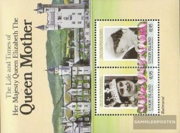 St. Vincent-Union Iceland Block1 (complete Issue) Unmounted Mint / Never Hinged 1985 Queen Mother Elizabeth - St.Vincent (1979-...)