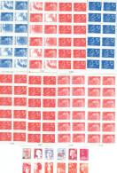Lot 9 Carnets MARIANNE   Année 2008  NEUFS Non Pliés    25% De Remise ( Lot 2 ) - Postzegelboekjes