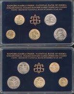 SERBIA COINS SET 2010 YEAR , NATIONAL BANK OF SERBIA,   UNC - Serbie