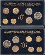 SERBIA COINS SET 2009 YEAR , NATIONAL BANK OF SERBIA,   UNC ; RRRRRR - Serbie