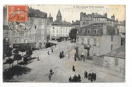 CLERMONT-FERRAND  (cpa 63)    Perspective Vers La Place De Lille     -  L 1 - Clermont Ferrand