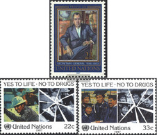 UN - New York 519,522-523 (complete Issue) Unmounted Mint / Never Hinged 1987 Special Stamps - New York – UN Headquarters