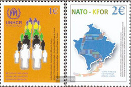 Kosovo 18-19 (complete Issue) Unmounted Mint / Never Hinged 2004 NATO+KFOR-Troops In Kosovo - Gebraucht