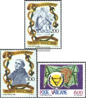 Vatikanstadt 789-790,791 (complete Issue) Unmounted Mint / Never Hinged 1981 Ruusbroec, Disabled - Vatican