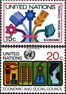 UN - New York 364-365 (complete Issue) Unmounted Mint / Never Hinged 1980 Special Stamps - New York – UN Headquarters