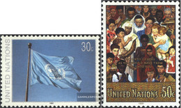 UN - New York 619-620 (complete Issue) Unmounted Mint / Never Hinged 1991 Clear Brands - New York – UN Headquarters