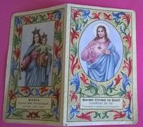 CALENDARIETTO 1959 PARR.S.CUORE BOLOGNA S.TA MARIA S.CUORE GESU' - Calendari
