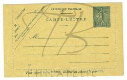 VEND BELLE CARTE LETTRE N°130-E8 !!!! - Postal Stamped Stationery