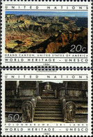 UN - New York 444-445 (complete Issue) Unmounted Mint / Never Hinged 1984 Heritage - Unused Stamps