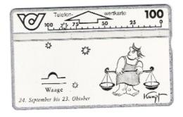 Austria - Österreich - Zodiac - Sternzeichen - Waage - 327A - Zodiaco