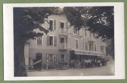 CARTE PHOTO - SAVOIE - MOUTIERS SALIN - HOTEL DES VICTOIRES - Superbe Animation En Terrasse - - Moutiers