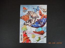 Feuillet N° F4498 Neuf ** - Les Papillons - Blocs & Feuillets