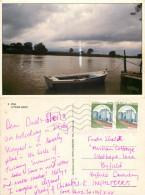 Arno River, Pisa, PI Pisa, Italy Postcard Posted 1998 Stamp - Pisa