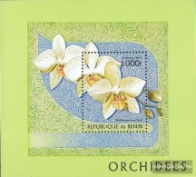 Benin Block29 (complete Issue) Unmounted Mint / Never Hinged 1997 Orchids - Unclassified