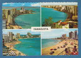 215411 / Famagusta - 4 VIEW , SEA , HOTEL , BEACH , BIKINI WOMEN , Cyprus Chypre Zypern - Zypern