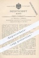 Original Patent - A. A. Thranitz , Chemnitz , 1890 , Elektrische Treppenbeleuchtung , Treppe , Treppen , Licht , Lampen - Historical Documents