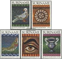 Suriname 1021-1025 (complete Issue) Unmounted Mint / Never Hinged 1983 Easter - Surinam