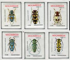 (cl. 36 - P51) Mozambique  ** N° 638 à 643 - Insectes - Mozambique
