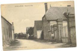 Carte Postale Ancienne  Avon La Pèze (10) Rue De La Pèze - Autres Communes