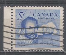 Canada 1963, Scott #412 Sir Martin Frobisher (1535-1594) Explorer And Discoverer Of Frobisher Bay (U) - 1952-.... Règne D'Elizabeth II