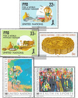 UN - New York 544-545,546,551-552 (complete Issue) Unmounted Mint / Never Hinged 1988 Special Stamps - New York – UN Headquarters