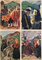 Illustrateur Homualk X 7 Région Savoie Béarn Basque - Homualk