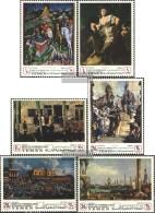 Yemen (UK) 510A-515A (complete Issue) Fine Used / Cancelled 1968 Venetian Art - Yemen