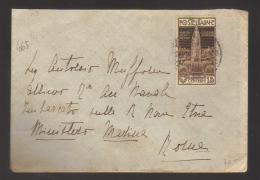 6901- Per Roma Affrancata Con Rarissimo C.15 Campanile Di Venezia - 18/7/1912 - - Poststempel