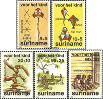 Suriname 1108-1112 (complete Issue) Unmounted Mint / Never Hinged 1984 Youth - Surinam